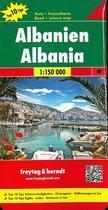 Couverture du livre « Albania 1/150 000 » de  aux éditions Freytag Und Berndt