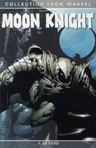Couverture du livre « Moon Knight T.1 ; le fond » de Charlie Huston et David Finch aux éditions Panini