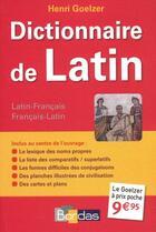 Couverture du livre « Dictionnaire de latin » de Collectif aux éditions Bordas