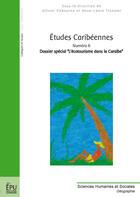 Couverture du livre « Études caribéennes t.6 ; dossier spécial : l'écotourisme dans la caraîbe » de Pascal Saffache aux éditions Publibook