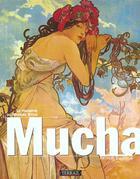 Couverture du livre « Mucha » de Ellridge/A aux éditions Terrail