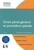 Couverture du livre « Droit pénal général et procédure pénale (21e édition) » de Bernard Bouloc et Haritini Matsopoulou aux éditions Sirey
