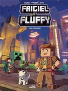 Couverture du livre « Frigiel et Fluffy T.2 ; tous populaires ! » de Minte et Frigiel et Jean-Christophe Derrien aux éditions Soleil
