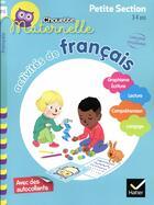 Couverture du livre « Activites de francais petite section » de Evelyne Barge aux éditions Hatier