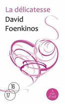 Couverture du livre « La délicatesse » de David Foenkinos aux éditions A Vue D'oeil