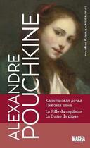 Couverture du livre « Merveilles de la littérature russe ; la fille du capitaine ; la dame de pique » de Alexandre Pouchkine aux éditions Macha Publishing
