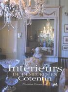 Couverture du livre « Interieurs De Demeures En Cotentin » de Christine Duteurtre aux éditions Isoete