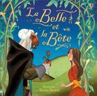 Couverture du livre « La Belle et la Bête » de Victor Tavares et Louie Stowell aux éditions Usborne