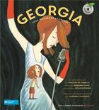 Couverture du livre « Georgia, tous mes rêves chantent » de Benjamin Chaud et Timothée de Fombelle aux éditions Gallimard-jeunesse
