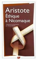 Couverture du livre « Ethique a nicomaque - traduction et presentation par richard bodeus » de Aristote aux éditions Flammarion