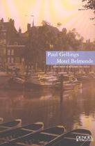 Couverture du livre « Motel Belmonde » de Paul Gellings aux éditions Denoel