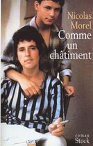 Couverture du livre « Comme Un Chatiment » de Nicolas Morel aux éditions Stock