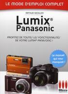 Couverture du livre « Lumix Panasonic n°23 » de Arthur Azoulay aux éditions Micro Application
