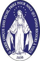 Couverture du livre « Autocollant médaille miraculeuse ; de parebrise » de Collectif aux éditions Saint Jude