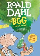 Couverture du livre « Le bon gros géant » de Quentin Blake et Roald Dahl aux éditions Gallimard-jeunesse