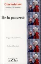 Couverture du livre « Cinemaction n 149 de la pauvrete » de Collectif aux éditions Charles Corlet