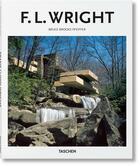 Couverture du livre « Wright » de Peter Gossel et Bruce Brooks Pfeiffer aux éditions Taschen