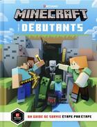 Couverture du livre « Minecraft pour les débutants ; un guide de survie étape par étape » de Collectif aux éditions Gallimard-jeunesse
