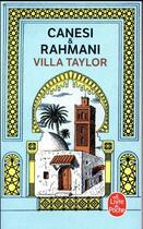 Couverture du livre « Villa taylor » de Michel Canesi aux éditions Lgf