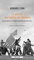 Couverture du livre « Conversation sur une histoire populaire des Etats-Unis ; entretiens » de Howard Zinn et Ray Suarez aux éditions Agone