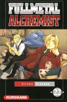 Couverture du livre « Fullmetal alchemist T.22 » de Hiromu Arakawa aux éditions Kurokawa