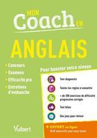 Couverture du livre « Mon coach en anglais ; pour booster votre niveau » de Celine Tatat aux éditions Vuibert