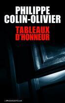 Couverture du livre « Tableaux d'honneur » de Philippe Colin-Olivier aux éditions Le Passage
