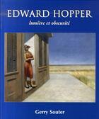 Couverture du livre « Edwar hopper ; lumière et obscurité » de Gerry Souter aux éditions Parkstone International
