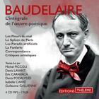 Couverture du livre « L'integrale de l'oeuvre poetique » de Charles Baudelaire aux éditions Theleme