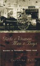 Couverture du livre « Girls and Women, Men and Boys » de Daley Caroline aux éditions Auckland University Press