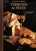 Couverture du livre « Terrines & pâtés » de Vincent Allard aux éditions De Vecchi