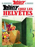 Couverture du livre « Astérix t.16 ; Astérix chez les Helvètes » de Rene Goscinny et Albert Uderzo aux éditions Hachette