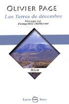 Couverture du livre « Terres de decembre (les) » de Olivier Page aux éditions Lucien Souny