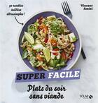 Couverture du livre « Plats du soir sans viande » de Vincent Amiel et Claire Payen aux éditions Solar