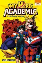 Couverture du livre « My hero Academia T.1 ; Izuku Midoriya : les origines » de Kohei Horikoshi aux éditions Ki-oon
