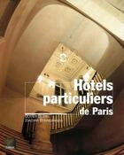Couverture du livre « Hotels particuliers de paris » de Olivier Blanc aux éditions Terrail