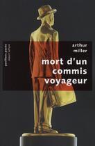 Couverture du livre « Mort d'un commis voyageur » de Arthur Miller aux éditions Robert Laffont