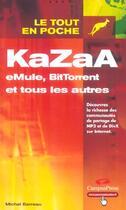 Couverture du livre « Kazaa » de Michel Barreau aux éditions Campuspress