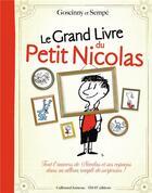 Couverture du livre « Le grand livre du petit Nicolas » de Sempe et Rene Goscinny aux éditions Gallimard-jeunesse
