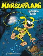 Couverture du livre « Marsupilami T.24 ; opération Attila » de Batem et Stephane Colman et Andre Franquin aux éditions Marsu Productions
