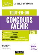 Couverture du livre « Concours avenir » de Marie-Virginie Speller et Helene Bautheney et Michael Saureix aux éditions Dunod