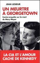 Couverture du livre « Un meurtre à Georgetown » de Jean Lesieur aux éditions L'artilleur