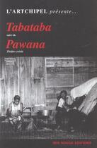 Couverture du livre « Tabataba » de Bernard-Marie Koltes aux éditions Ibis Rouge