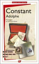Couverture du livre « Adolphe » de Benjamin Constant aux éditions Flammarion