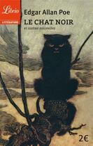 Couverture du livre « Le chat noir - et autres nouvelles » de Edgar Allan Poe aux éditions J'ai Lu
