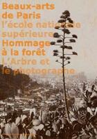 Couverture du livre « Hommage à la forêt ; l'arbre et le photographe » de Olivier Rolin et Pierre Bergougnioux et Anne-Marie Garcia aux éditions Ensba