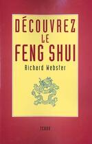 Couverture du livre « Découvrez le feng shui » de Richard Webster aux éditions Tchou