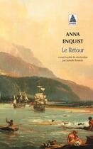 Couverture du livre « Le retour » de Anna Enquist aux éditions Actes Sud
