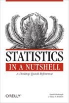 Couverture du livre « Statistics in a Nutshell » de Sarah Boslaugh aux éditions O'reilly Media