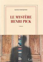 Couverture du livre « Le mystère Henri Pick » de David Foenkinos aux éditions Gallimard